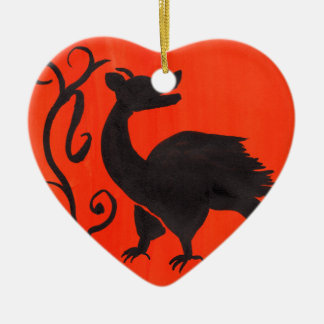 Medieval Beastie Ceramic Ornament