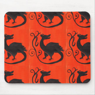 Medieval Beastie Mouse Pad