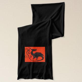 Medieval Beastie Scarf