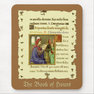 Medieval Book of Hours Mousepads