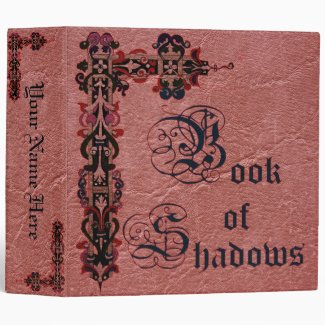 Medieval Book of Shadows Binder