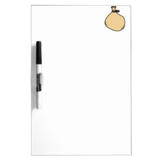Medieval Brown Sack Bag Dry Erase Board