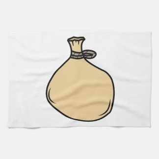 Medieval Brown Sack Bag Kitchen Towel