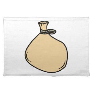 Medieval Brown Sack Bag Placemat