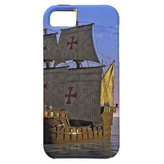 Medieval Carrack at Twilight iPhone 5 Cover