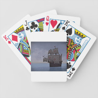 Medieval Carrack Becalmed Bicycle Playing Cards