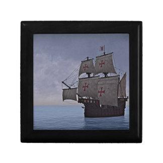 Medieval Carrack Becalmed Gift Box