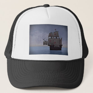 Medieval Carrack Becalmed Trucker Hat