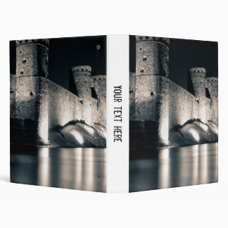 Medieval castle binder