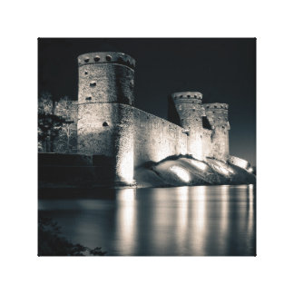 Medieval castle canvas print