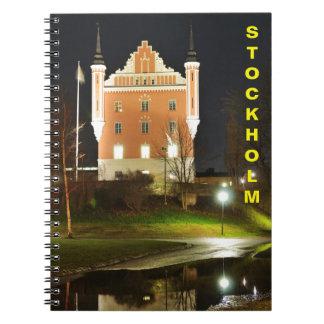 Medieval castle in Stockholm, Sweden Notebook