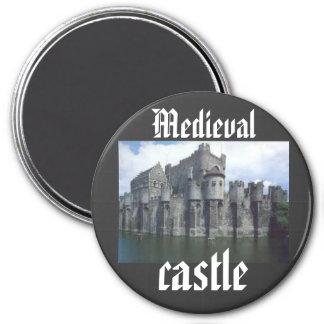 Medieval Castle king queen royal Magnet