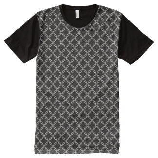 Medieval Chainmail Pattern All-Over-Print T-Shirt