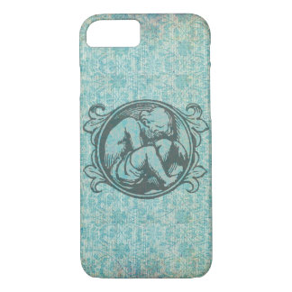 Medieval child (retro boy) in classic vintage art iPhone 7 case