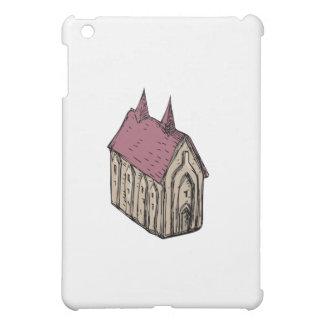 Medieval Church Drawing iPad Mini Case