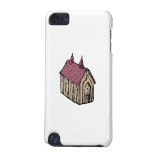 Medieval Church Drawing iPod Touch (5th Generation) Cover