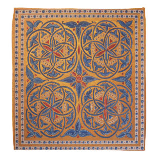 Medieval circles head kerchiefs