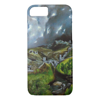 Medieval city wall iPhone 7 case