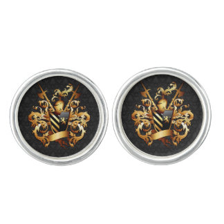 Medieval Coat of Arms Cufflinks