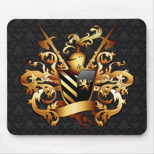 Medieval Coat of Arms Mousepad
