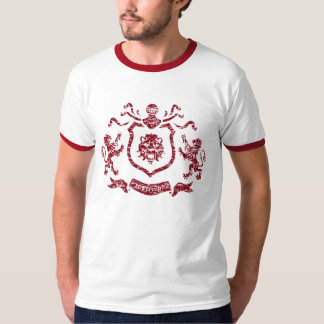 Medieval Coat of Arms - Ringed T-Shird T-shirts
