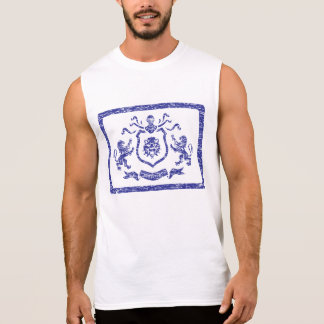 Medieval Coat of Arms Stamp - Sleeveless T-Shirt