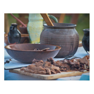 Medieval Cooking Ceramic Pots