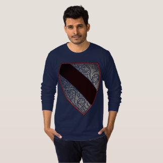 Medieval Crest and Helmet V T-Shirt