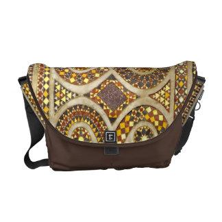 Medieval Decorative Motif Messenger Bags