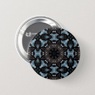 Medieval design kaleidoscope 2 inch round button