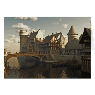Medieval Docks Card