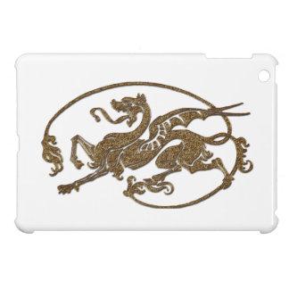 Medieval Dragon Antique Art Designer Gift iPad Mini Cover