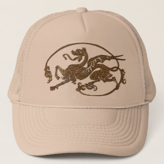 Medieval Dragon Antique Art Designer Gift Trucker Hat