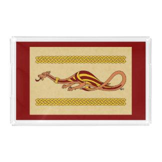 Medieval Dragon Design 2015 Acrylic Tray