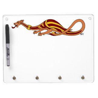 Medieval Dragon Design 2015 Dry Erase Board With Keychain Holder