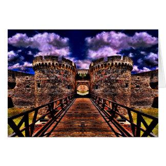 Medieval Fortress Kalemegdan Belgrade Card