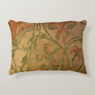 Medieval fresco decorative pillow