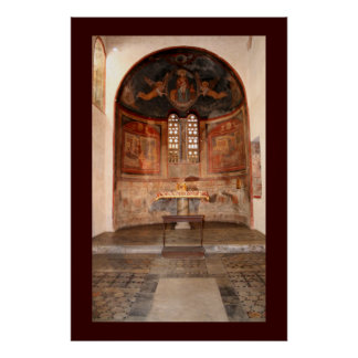 Medieval Frescoes Poster