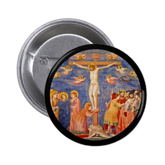 Medieval Good Friday Scene 2 Inch Round Button