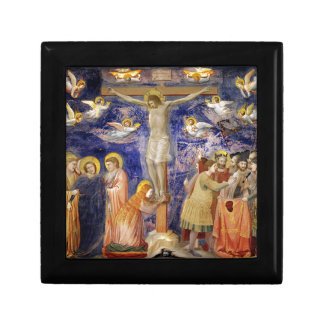 Medieval Good Friday Scene Gift Box