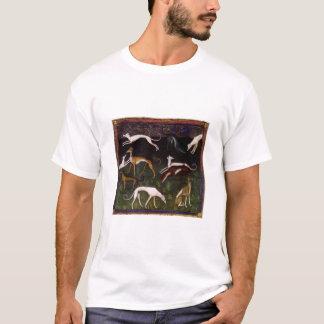 Medieval Greyhounds Graceful Dog T-Shirt