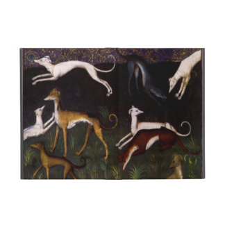 Medieval Greyhounds in the Deep Forest iPad Mini Case