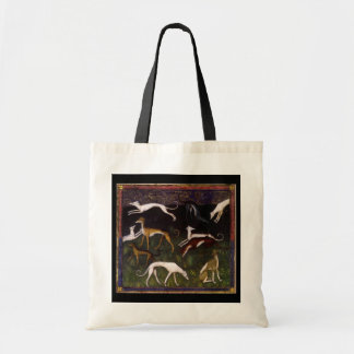 Medieval Greyhounds in the Deep Woods