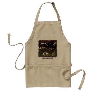 Medieval Greyhounds Standard Apron