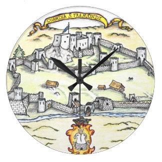 Medieval Guardia Large Clock
