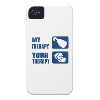 medieval harp is my therapy iPhone 4 case