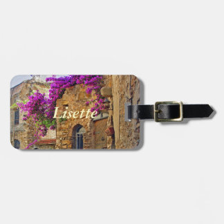Medieval House in Scenic Charming Italy Luggage Tag