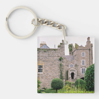 Medieval Irish Castle, Drimnagh, Dublin Keychain