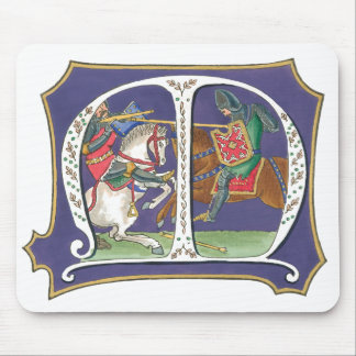 Medieval Joust Mouse Pads