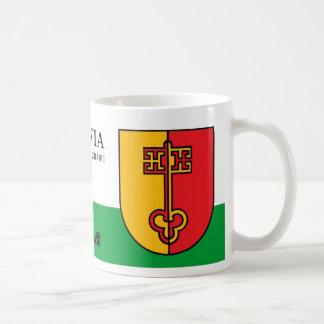 Medieval Key of Heaven from Zilupe Latvia Coffee Mug